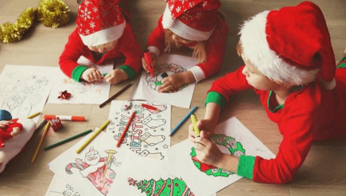 Printable Kids Activities for Christmas