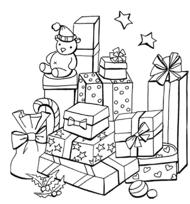 Christmas-presents-colouring-in