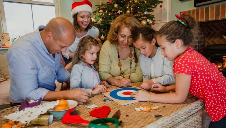 Christmas games the whole family can play - featured image