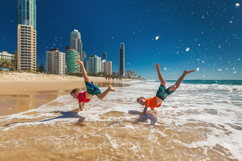 Gold Coast is Where to Spend Christmas in Australia