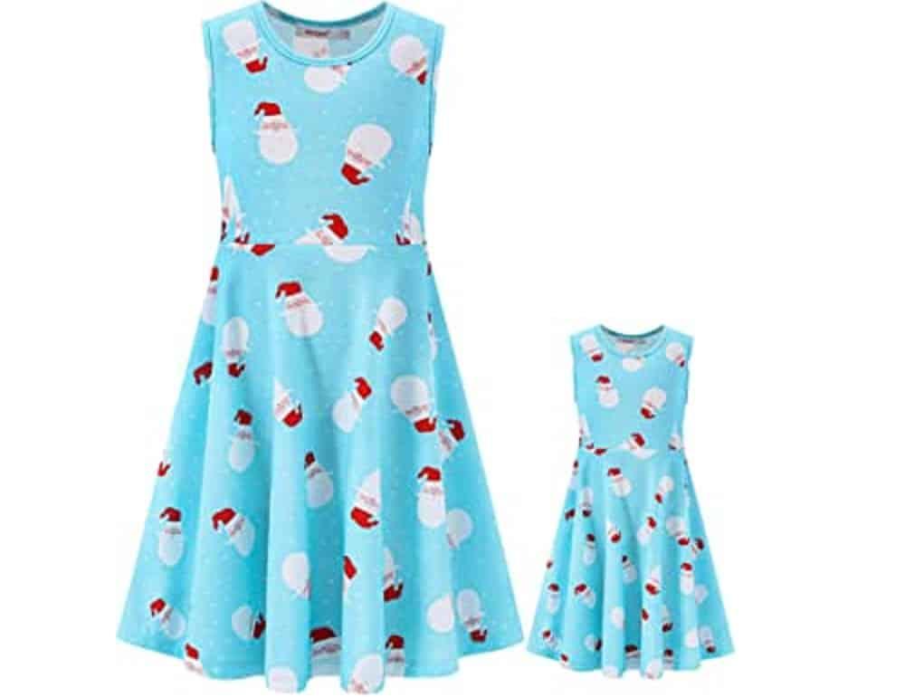 Blue-Christmas-dress
