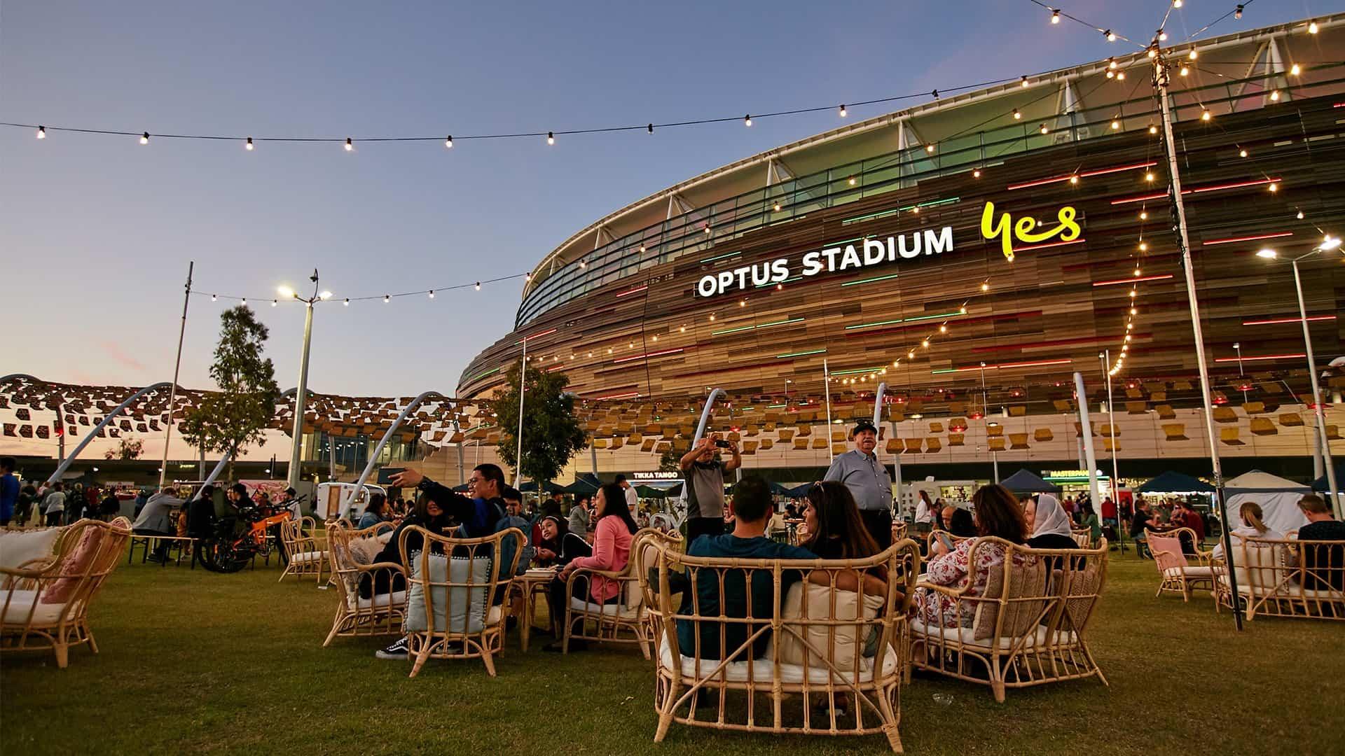 Christmas Markets Perth Optus Stadium
