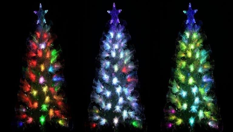 Fibre Optic Christmas Trees - Featured image