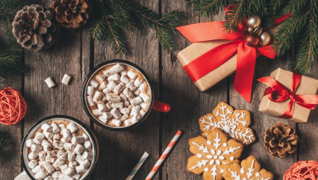 Christmas gift food