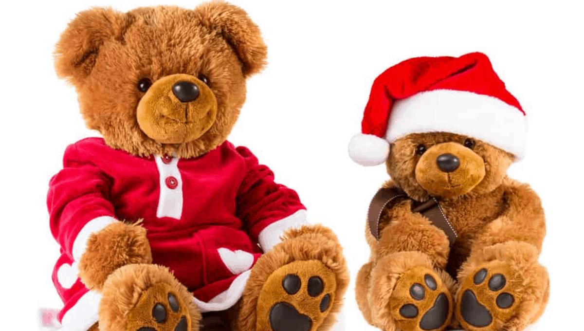 Christmas Teddy Bears for Summer in Australia